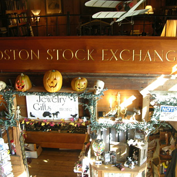THE BOSTON STOCK EXCHANGE - Signs