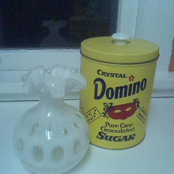 Domino Sugar Canister