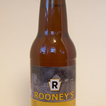 Rooney's Lager, Pittsburgh, PA - Breweriana