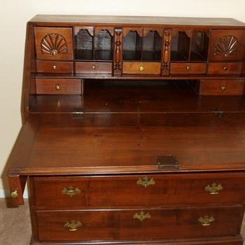 Antique Slant Front Desk