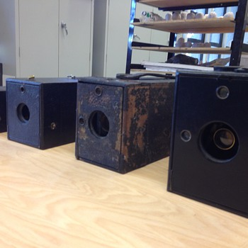 1,2,3,4 KODAK - Cameras