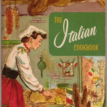 1956 - The Italian Cookbook - Books