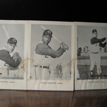 Cleveland Indians Picture Pack - Baseball