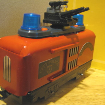 Vintage Marx custom Con-Rail transport car with lights and sound! - Model Trains
