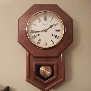 Spiegel & Co 31 Day regulator style wall clock