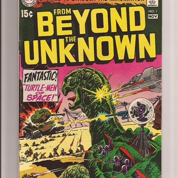 A favourite Joe Kubert sci fi issue