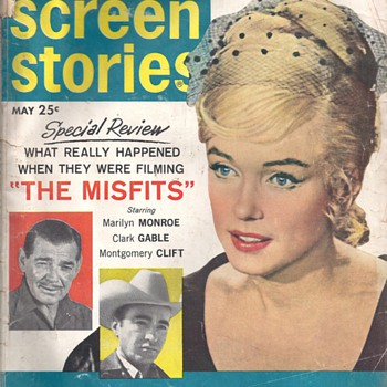 "MAGAZINES ""SCREEN STORIES"" & ""MOVIE WORLD"" - Paper"