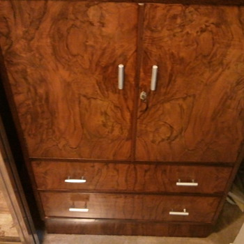 Small Armoire Art Deco to Mid Century era