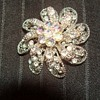 rhinestone brooch