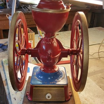 Enterprise Coffee Grinder No. 7 - Victorian Era