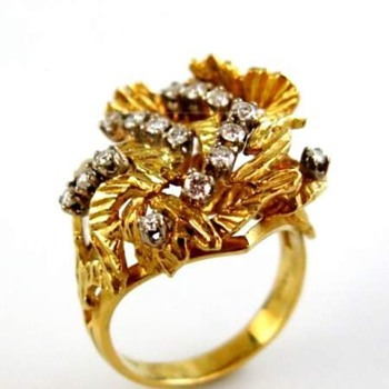 Stunning cocktail ring - Fine Jewelry