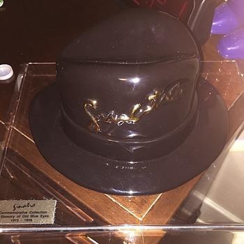 Frank Sinatra Ceramic Hat