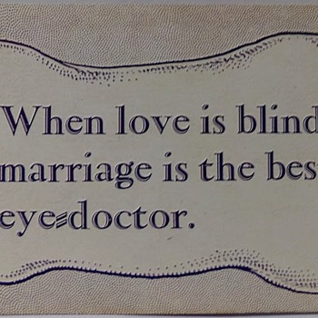 Love is Blind - Postcards