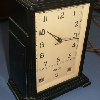 Stanford Calendar Clock - Clocks