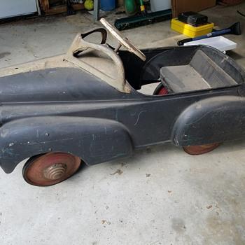 My vintage Pedal Car
