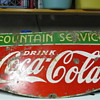 1934 Coca Cola porcelin sign