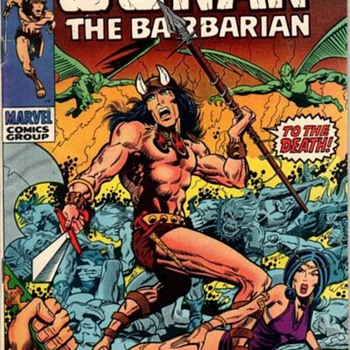 Conan The Barbarian! - Comic Books