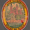Travel Decal - Speyer on the Rhein (Germany)