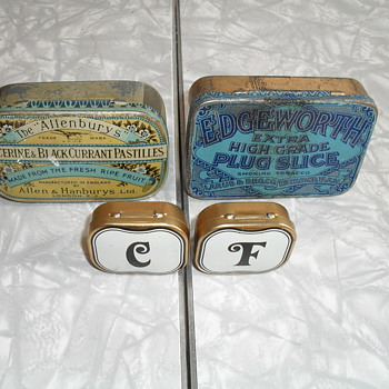 Allen and Hanburys ltd Tin. - Tobacciana