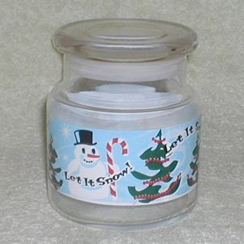 Christmas Candy Jar - Christmas