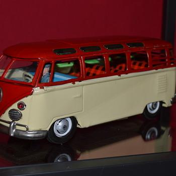 vw bus - Model Cars