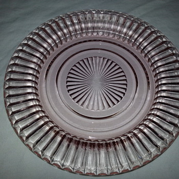 Anchor Hocking Coronation Plate - Glassware