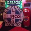 1920's Linco Gasoline & Motor Oil porcelain sign