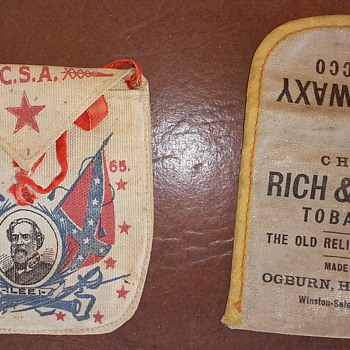 Old Tobacco Pouches