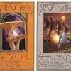 Mushroom Man postcard, BG-214 & 216, by David Singer