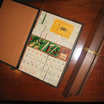 Mah Jong set 1923 Thomas de la Rue - Games