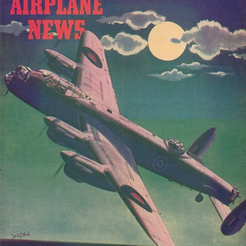 1944 - Model Airplane News magazine - June