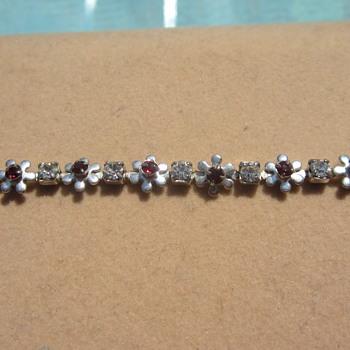 I think Ruby Bracelet - Costume Jewelry