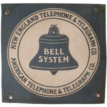 New England Telephone &amp; Telegraph Co. Cloth