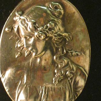 Henryk Winograd Repousse .999 Silver Pendant Primavera  - Fine Jewelry