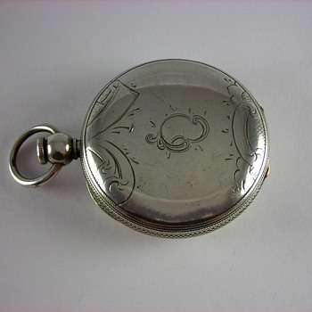Waltham P.S. Bartlett Pocket Watch
