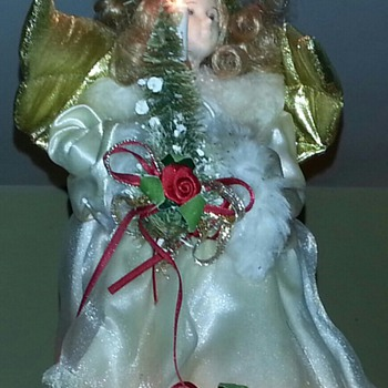 Angel Tree Topper - Christmas
