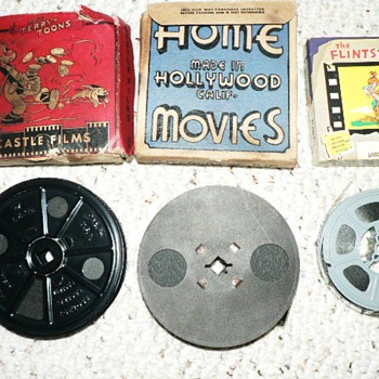 16 mm CARTOON FILMS - Movies