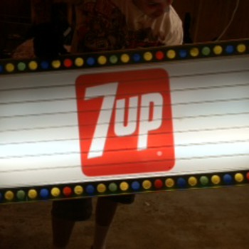 7up menu sign need help with info - Signs