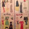 1933 original newspaper paper dolls. Blondie, Sisters and Tillie the Toiler