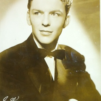 Sinatra Promo Photo with the Harry James Orchestra