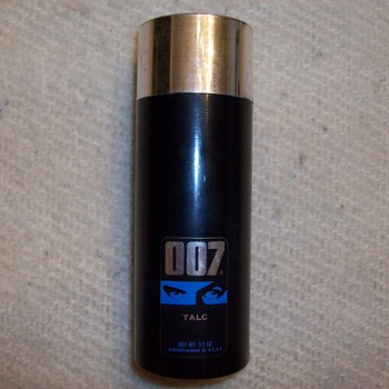 007 Talcum Powder Container