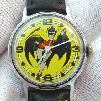 Where Would Batman be, without Robin? - Wristwatches
