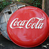 pre 50's large plastic lighted button signs