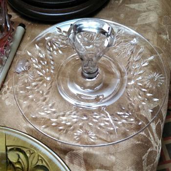 "7""Tidbit unknown pattern - Glassware"