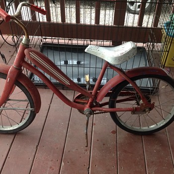 Would like info on this old child's bike.