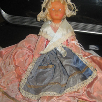 Celluloid 8&quot; doll - Dolls