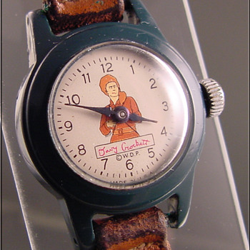 Davy Crockett boy&#039;s wristwatch c.1950