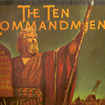 The Ten Commandments Movie Book