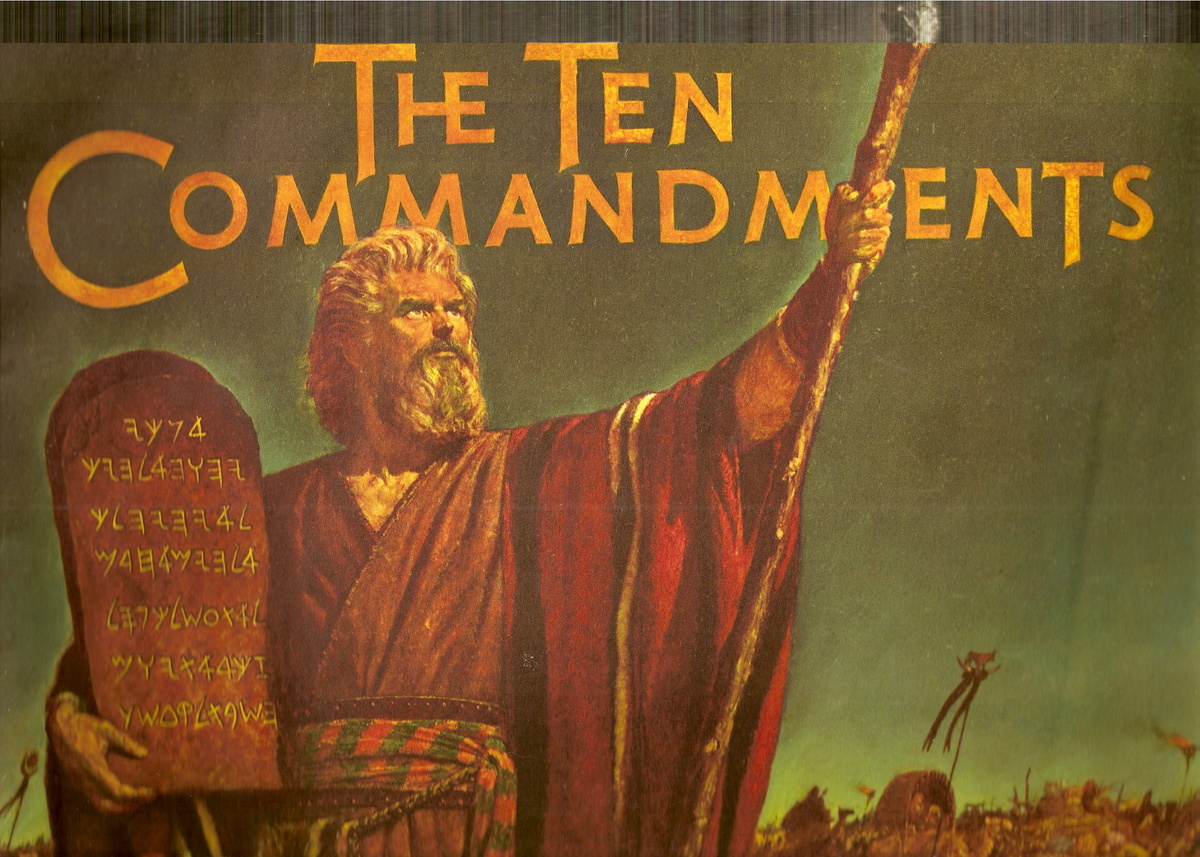 The Ten Commandments Movie Book Collectors Weekly