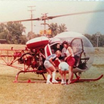 Helicopter late 1970's  - Photographs